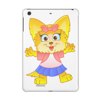 Teakup Yorkie Cartoon iPad Minifall 2
