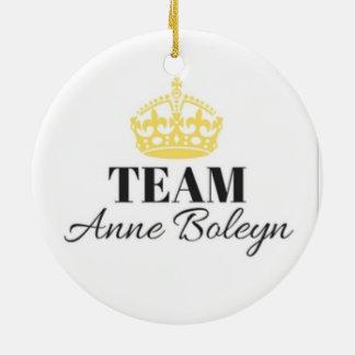 Team-Anne- Boleynverzierung Keramik Ornament