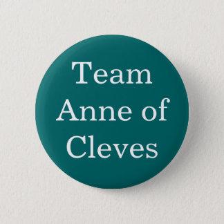 Team Anne von Cleves Runder Button 5,1 Cm