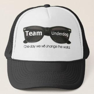 Team-Benachteiligtschwarz-Sonnenbrillehut Truckerkappe