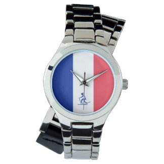 Team Biathalon Frankreich Armbanduhr