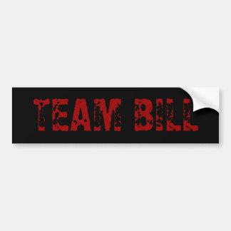 TEAM BILL AUTOAUFKLEBER