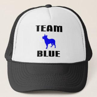 Team-Blau Truckerkappe