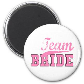 Team-Braut 1 Kühlschrankmagnet