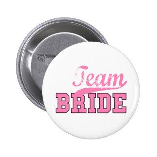 Team-Braut 1 Runder Button 5,1 Cm