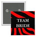 Team-Braut Anstecknadel