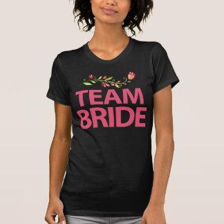 Team-Braut-BlumenJunggeselinnen-Abschieds-Shirts T-Shirt