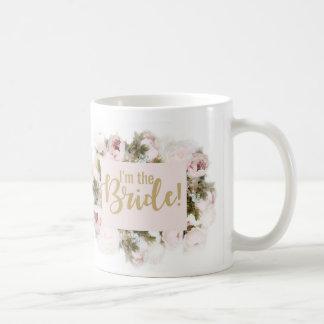 Team-Braut - Braut-Tasse - zusammenpassende Rose Kaffeetasse