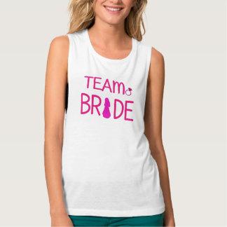 Team-Braut - Brautparty-Behälter-Spitze Tank Top