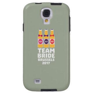 Team-Braut Brüssel 2017 Zfo9l Galaxy S4 Hülle