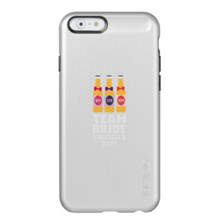 Team-Braut Brüssel 2017 Zfo9l Incipio Feather® Shine iPhone 6 Hülle