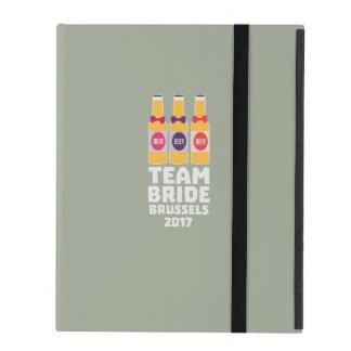 Team-Braut Brüssel 2017 Zfo9l iPad Schutzhülle