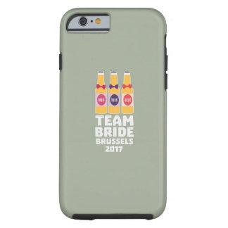 Team-Braut Brüssel 2017 Zfo9l Tough iPhone 6 Hülle