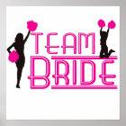 Team-Braut - Cheerleadern Poster