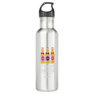 Team-Braut die Schweiz 2017 Ztd9s Trinkflasche