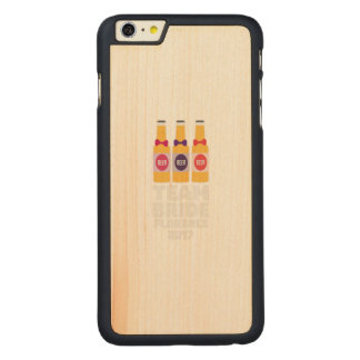 Team-Braut Florenz 2017 Zhy7k Carved® Maple iPhone 6 Plus Hülle