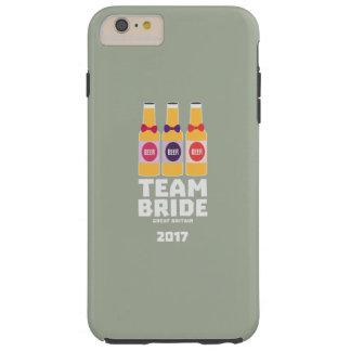 Team-Braut Großbritannien 2017 Zqqh7 Tough iPhone 6 Plus Hülle