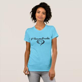 Team-Braut Hashtag Shirt! T-Shirt