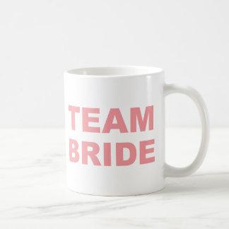 Team-Braut-Hochzeits-Henne-Party Kaffeetasse