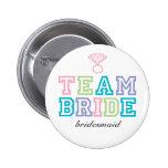 Team-Braut-Knopf Button