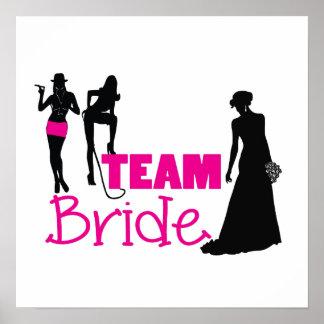 Team-Braut - Mädchen der Ehre Poster