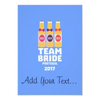 Team-Braut Portugal 2017 Zg0kx Karte