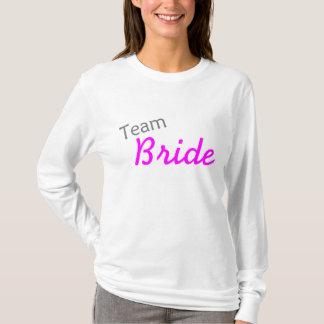 Team-Braut (Rosa) T-Shirt