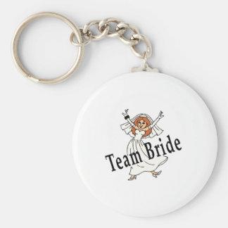 Team-Braut Schlüsselbänder