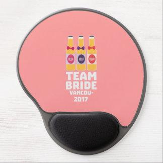 Team-Braut Vancouver 2017 Z13n1 Gel Mousepad