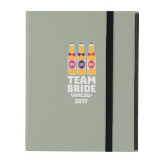 Team-Braut Vancouver 2017 Z13n1 iPad Etui