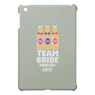 Team-Braut Vancouver 2017 Z13n1 iPad Mini Hülle