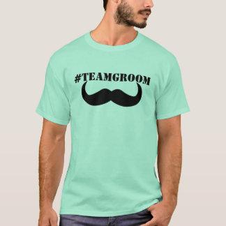 Team-Bräutigam Hashtag Shirt! T-Shirt
