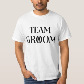 Team-Bräutigam - lustiges Hemd