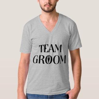 Team-Bräutigam - lustiges Hemden
