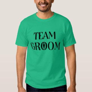 Team-Bräutigam - lustiges T Shirt
