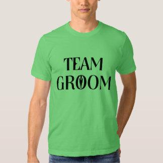 Team-Bräutigam - lustiges Tshirts