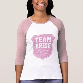 Team-Brautt-shirt für bachelorette Brautparty T-Shirt