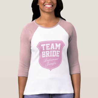 Team-Brautt-shirt für bachelorette Brautparty