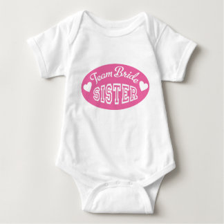 Team Bride Baby Strampler