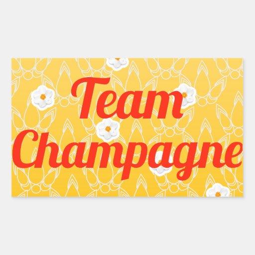 Team Champagne Sticker