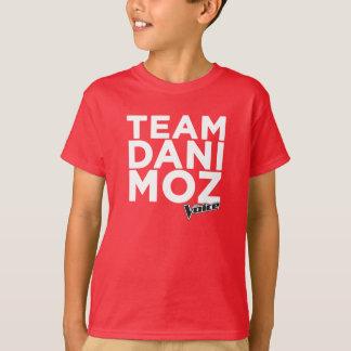 Team Dani Moz das T-Stück Kindes - Rot T-Shirt