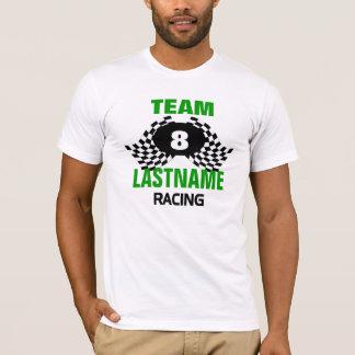 Team, das Familie läuft T-Shirt