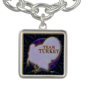 Team die Türkei Charm Armband