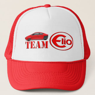 TEAM-ELIO-ROT TRUCKERKAPPE