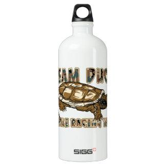 Team-Ente - Schildkröte-laufendes Team Aluminiumwasserflasche