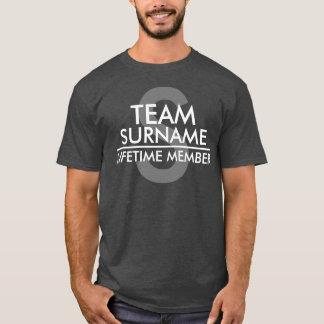TEAM (Familienname) Lebenszeit-Mitglied T-Shirt