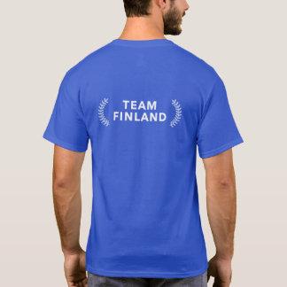 Team Finnland rev T - Shirt-Rückseite T-Shirt