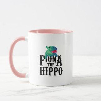 Team Fiona die Flusspferd-Liebe Hippopotamuss Tasse