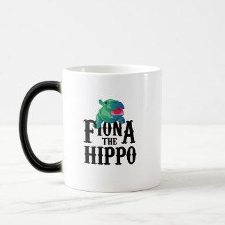 Team Fiona die Flusspferd-Liebe Hippopotamuss Verwandlungstasse