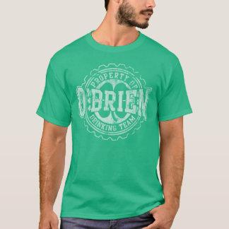 Team-Flaschenkapsel O'Briens trinkende T-Shirt